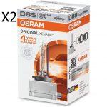 2 x Ampoules xenon D8S Osram 35w 5500k
