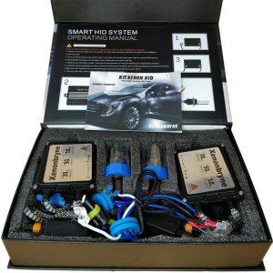 Kit Xenon H4 BI 6000K Slim Ballast