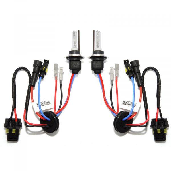 2 x Ampoules Xenon H7 8000K 35W