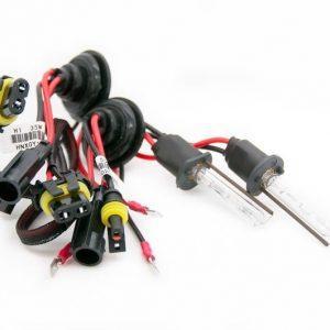 2 x Ampoules Xenon H1 6000K 35W