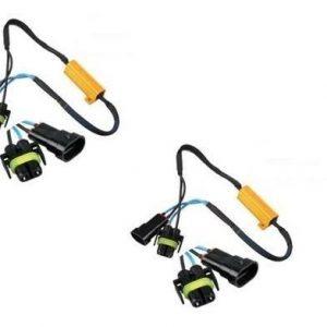 2 X Résistance ampoule HB4 9006 anti erreur