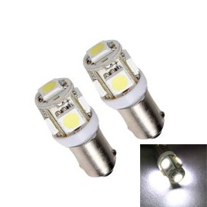 2 x 1 LED SMD T4W Culot BA9S Canbus