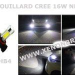 2 X Ampoule HB4 9006 CREE LED 16W