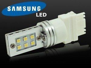 2 x Ampoule T20 W21/5W (7443)